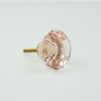 Knob Crystal Mushroom 3.5cm