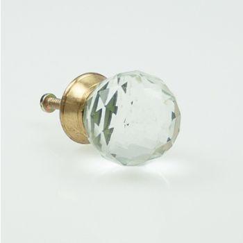 Crystal Glass Golf knob