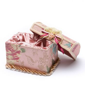 Handcrafted Fabric Box