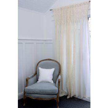 Smocked Curtain Set