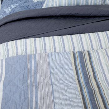Portsea Woven  Coverlet Throw