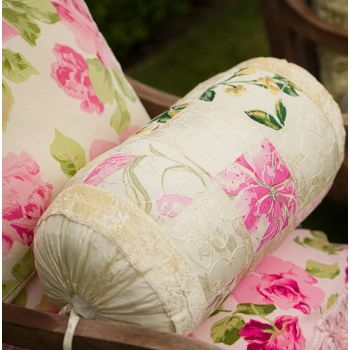 Floral Patch Bolster Prefilled